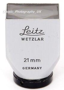 Leitz SBKOO LEICA 21mm VeiwFinder for Elmarit-M 21mm Super-ANGULON 1:3.4/21mm