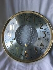 "Clock Dial, 12"" 1161 Hermle Type"