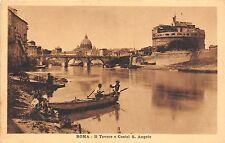 Br34148 Roma Il Tevere e Castel S. Angelo Italy