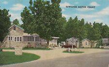 Suwanee Motor Court in Cordele GA Postcard