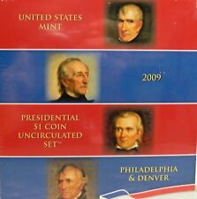2009 United States Mint Presidential $1 Coin Uncirculated 8 Coin Set Unopened