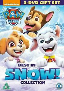 PAW PATROL - BEST IN SNOW COLLECTION (3 DISC DVD BOX SET) NEW/SEALED...FAST POST