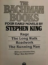 The Bachman Books : Four Early Novels by Stephen King (1985, Hardcover)
