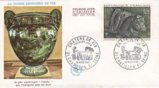 ENVELOPPE FDC 1ER JOUR CRATERE DE VIX tombe prinçière - 26 3 1966