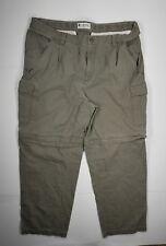 Columbia Cargo Pants Sz 36×28.5 Mens Adjustable Length Green