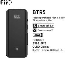 New FiiO BTR5 Flagship Portable High-Fidelity Bluetooth Amplifier