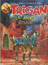 BD  Trigan - N°2 - La mort rouge   - EO .1977 - TBE - Don Lawrence