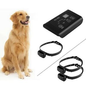 KD-990B Electronic Pet Fence System Waterproof 50' 2 Dog System - Open Box