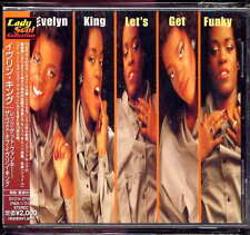 Evelyn King Let's Get Funky Japan CD w/obi kashif paul laurence BVCM-37062