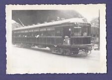 Union Traction Compnay of Indiana Street Car #401 - Vintage B&W Railroad Photo