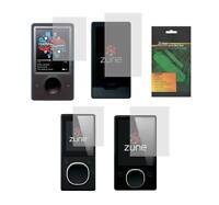 2X Clear Screen Protector Guard Shield for Microsoft Zune 4 8 16 30 32 80 120 GB