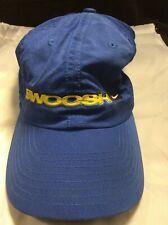 Vintage Nike Hat Swoosh Spell Out Adjustable RARE Blue