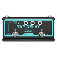 Donner Tap Delay Multi Guitar Effect Pedal 3 Delay Modes Analogue Digital Pedals