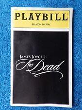 The Dead - Belasco Theatre Playbill - December 1999 - Christopher Walken