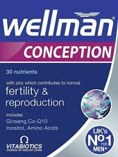 Vitabiotics Wellman Conception 30 Tablets NEW - Free UK Delivery