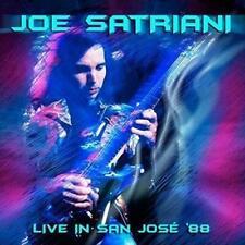 JOE SATRIANI - LIVE IN SAN JOSE '88 2CDs (NEW/SEALED)