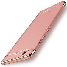 Handy Hülle Schutz Case für Xiaomi Mi 5s Bumper 3 in 1 Cover Chrom Rose Gold Neu