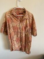 Tori Richard hawaiian shirt XL mens cotton lawn camp button up short sleeve