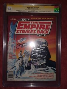 Marvel Super Special 16 CGC SS 9.6 Star Wars Empire signed Prowse Bulloch Kurtz