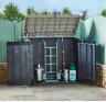 Toomax Garden Storage Box Shed Bin Store 1270L 2 Door Front Access £149.99