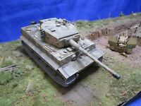 AF008 TAMIYA 35146 1/35 Tigre 1 Panzer Kampfwagen VI Sd Kfz181 Ausfuhrung MONTE