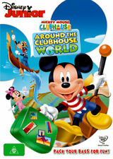 Mickey Mouse Clubhouse: Around the Clubhouse World  - DVD - NEW Region 4