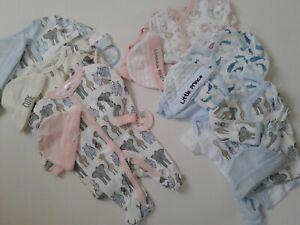 Premature tiny baby boys girls clothes Safari animals 3.5 kg 50-55 cm