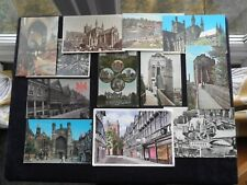 12 Postcards Chester, Cathedral, Water Tower, St. Werburgh Street, Bishop Lloyd