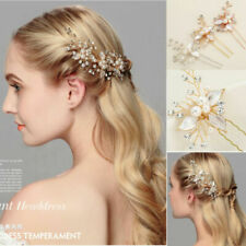 Party Fashion Wedding Bridemadi Crystal Hair Comb Clips Pins  Hair Accessories