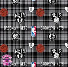 NBA Brooklyn Nets Fleece Fabric