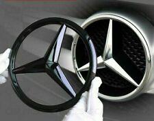 Mercedes MATTE Black Front Grille Star Badge Cover GLC GLE GLS Class 21cm Matt