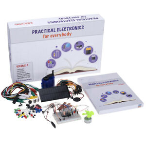 """The learning package """"Practical Electronics"""" 50+ experiments English 2019"""