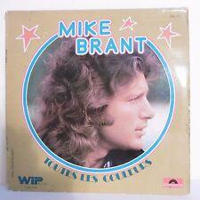 """33T Mike BRANT Disque Vinyle LP 12"""" TOUTES LES COULEURS - POLYDOR 2401123"""