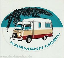 VW Bus T2 - Aufkleber - Karmann Mobil - Unbenutzt