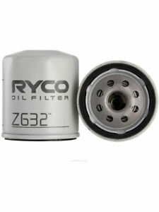 Ryco Oil Filter FOR FORD FIESTA WQ (Z632)