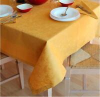 Tovaglia fiandra CON TOVAGLIOLI in 10 colori Cotone 100% anche su misura