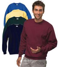 Sudadera sin capucha de hombre en color principal azul