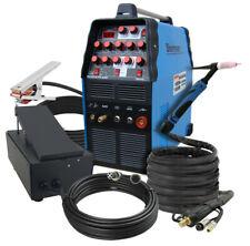 SHERMAN Inverter Welder Machine 200amp TIG 210 AC/DC PULSE MMA + PEDAL CONTROL