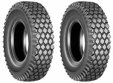 (TWO) 4.80/4.00-8 4.80-8 4 4.80X8 4.00x8 Stud Tires Tubeless 4ply Rated
