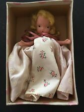 Vintage Bisque 1940s Nasb Nancy Ann Story Book Doll Pretty As A Picture #124