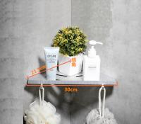 Bathroom Shower Corner Basket Storage Shelf Rack Wall Mount