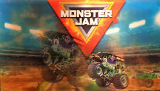 MONSTER JAM  STORE DISPLAY SIGN   3D GRAPHICS   GRAVE DIGGER MONSTER TRUCK