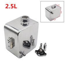 2.5L Polished Custom Header Expansion Water Tank For A Radiator Overflow Bottle