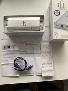 ifi micro iDAC2 DAC DA Wandler USB-DAC Chinch RCA KH-Verstärker