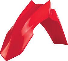 ACERBIS FRONT FENDER (RED) Fits: Honda CRF450R,CRF250R