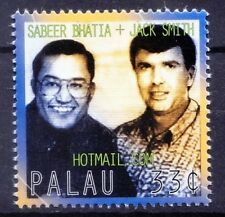 Palau 1999 MNH, Sabeer Bhatia India & Jack Smith founder of Hotmail.com. (p8w)