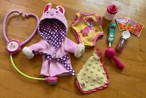 Baby Alive Doll Accessories Medicine In SPOON STETHESCOPE THERMOMETER + More