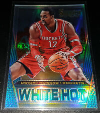 Dwight Howard 2013-14 Panini Select RED HOT SILVER PRIZM Insert Card (#'d 20/25)