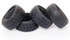Racing Speed Rubber Sponge Tires Tyre for HSP 1:10 On-Road Car 4Pcs