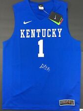 SKAL LABISSIERE SIGNED AUTOGRAPHED BASKETBALL JERSEY KENTUCKY WILDCATS COA !